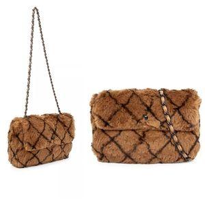 ❤️Chanel rare limited edition rabbit fur purse